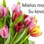 kovo-8-sveikinimas